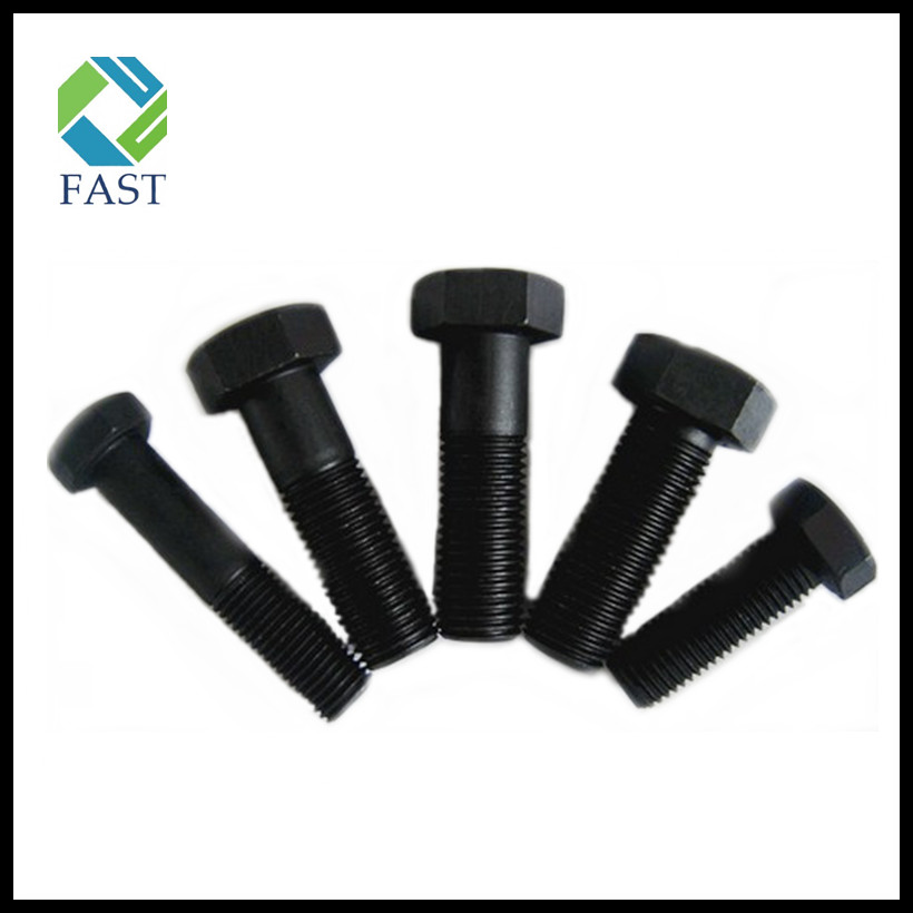 Black Oxide Grade 8.8 Hex Bolt