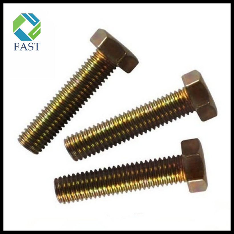 Color Zinc Plated Hex Cap Bolt