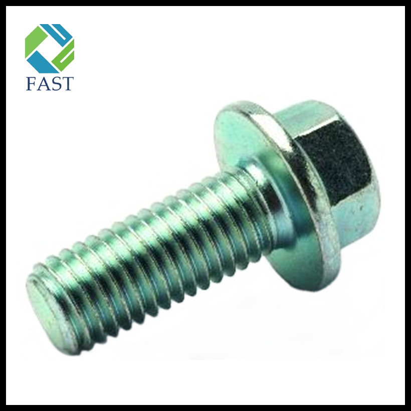 Galvanized Hexagon Flange Bolt