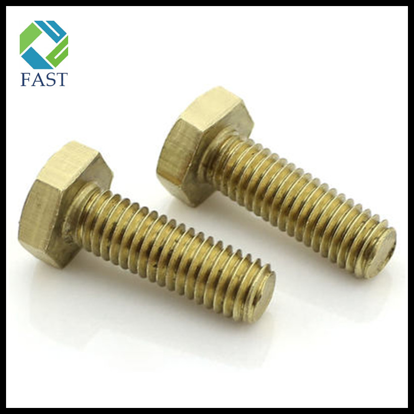 Brass Hex Cap Bolt