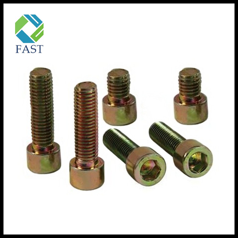 Zinc Plated Hex Socket Bolt