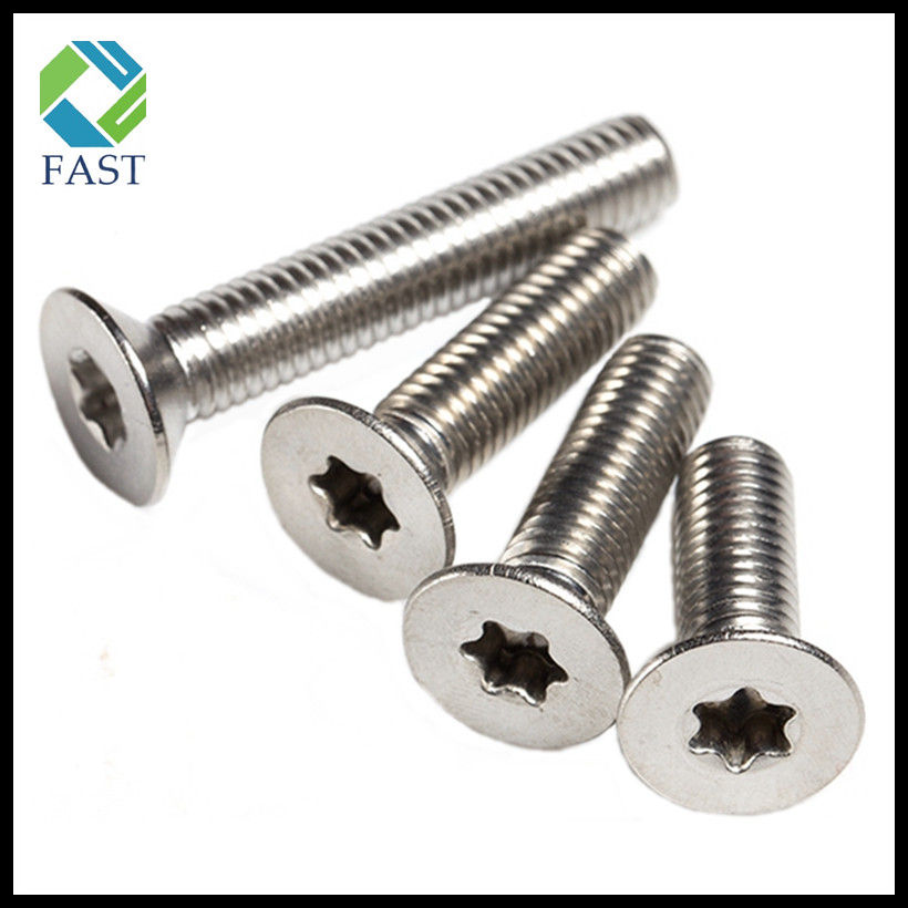 Flat Head Torx Machine Screw