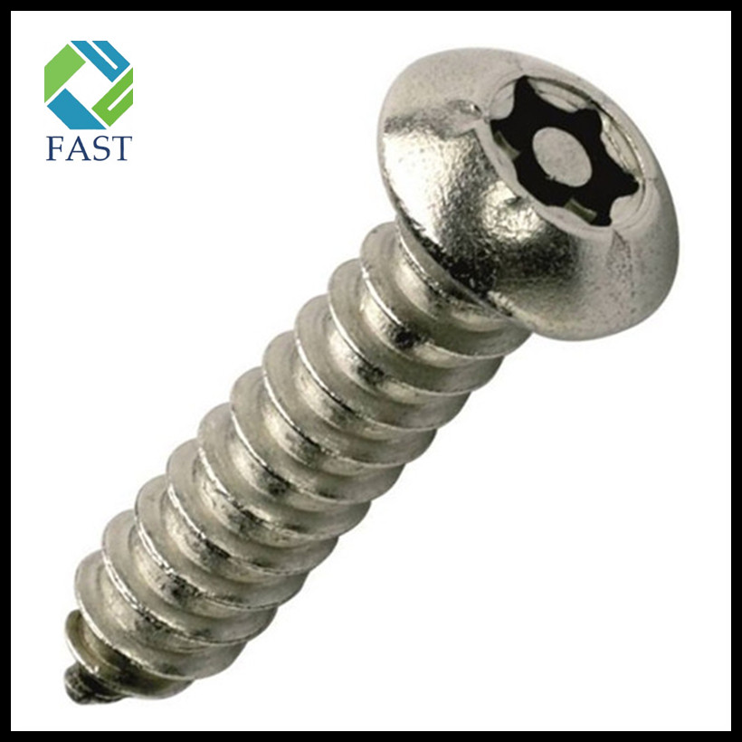 Button Head Self Tapping Security Screw
