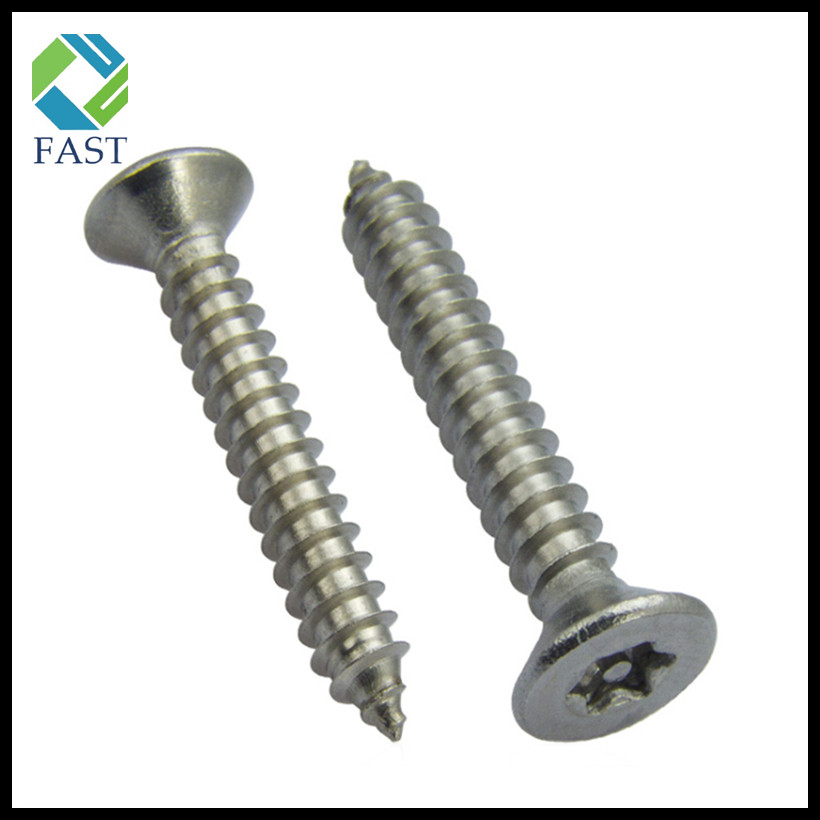 Countersunk Self Tapping Anti-Theft Screw