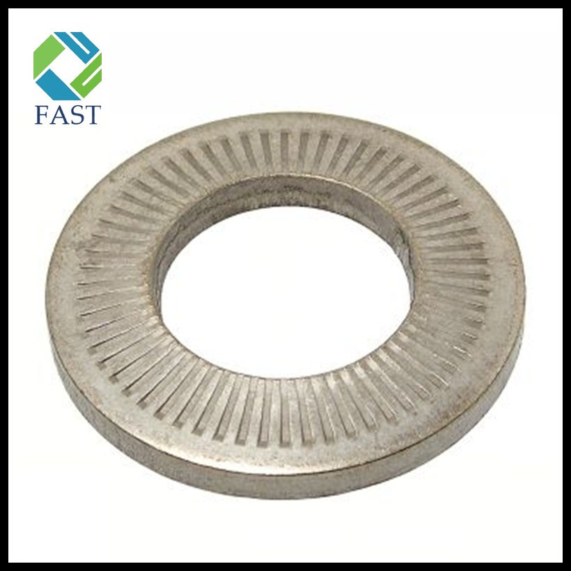 Knurled Spring Washer